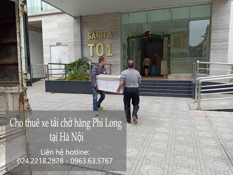 Dịch vụ xe tải chở hàng thuê tại phố Lê Ngọc Hân
