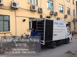Xe tải chở hàng thuê tại phố Đoàn Khuê