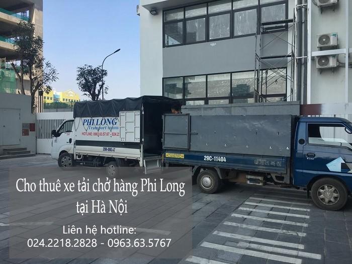 Dịch vụ xe tải chở hàng thuê tại phố Nguyễn Bỉnh Khiêm
