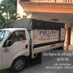 Dịch vụ xe tải chở hàng thuê tại phố Nguyễn An Ninh