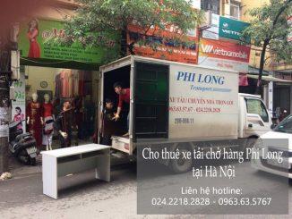 Xe tải chở hàng thuê tại phố Hà Huy Tập