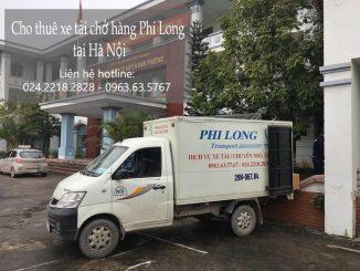 Xe tải chở hàng thuê tại đường Hà Huy Tập