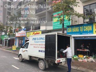 Xe tải chở hàng thuê tại phố Dương Quang