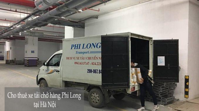 Xe tải chở hàng thuê tại phố Dương Hà