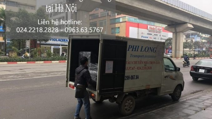 Dịch vụ xe tải chở hàng thuê tại đường Hoàng Tăng Bí