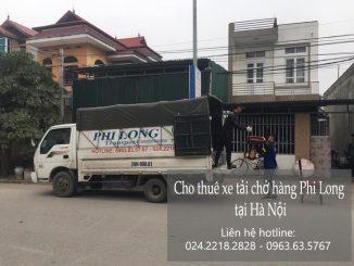 Xe tải chở hàng thuê tại phố Xuân Đỗ