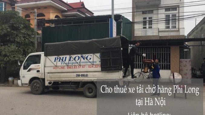 Dịch vụ xe tải chở hàng thuê tại phố Nguyễn Như Đổ 2019