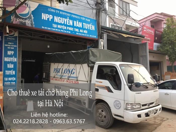 Xe tải chở hàng thuê tại phố Ninh Hiệp