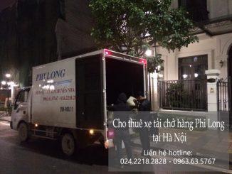 Xe tải chở hàng thuê Phi Long tại phố Hoàng Thế Thiện