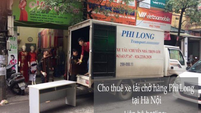 Xe tải chở hàng thuê tại phố Ngô Gia Khảm