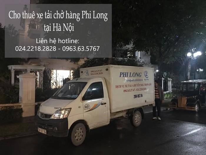 xe tải chở hàng thuê Phi Long tại phố Thiên Đức