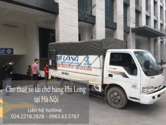Dịch vụ xe tải chở hàng thuê tại phố Hoàng Sâm
