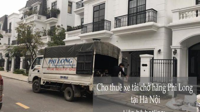 Dịch vụ xe tải chở hàng thuê tại phố Nguyễn Huy Tự