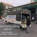 Xe tải chở hàng thuê tại phố Nam Đuống