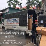 Xe tải chở hàng thuê tại phố Cao Thắng