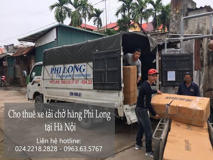 Xe tải chở hàng thuê tại phố Kim Quan