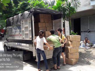 Xe tải chở hàng thuê tại phố Nguyễn Văn Hưởng