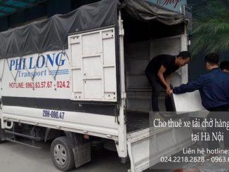 Dịch vụ xe tải chở hàng tại phố Tây Đăm