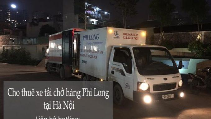 Dịch vụ xe tải chở hàng thuê tại phố Mai Dịch