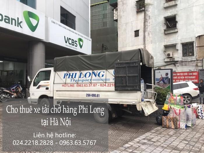 Dịch vụ xe tải chở hàng thuê tại phố Mạc Thái Tông