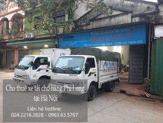 Dịch vụ xe tải chở hàng thuê tại phố Nguyễn Chánh