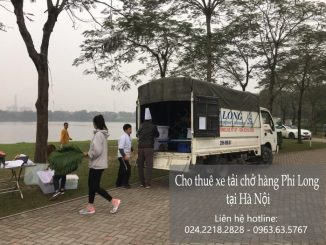 Dịch vụ cho thuê xe tải chở hàng tại phố Vũ Trọng Khánh