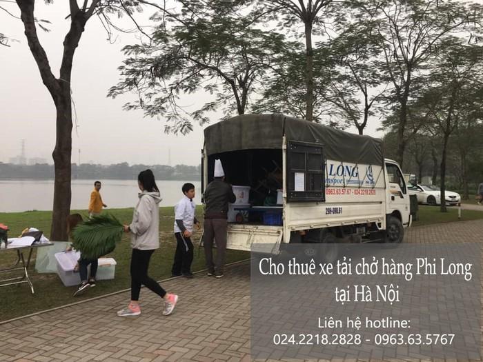 Dịch vụ xe tải chở hàng thuê tại phố Mạc Thái Tổ