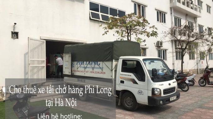 Xe tải chở hàng thuê tại phố Phú Thị
