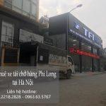 Xe tải chở hàng thuê tại phố Nguyễn Quang Bích