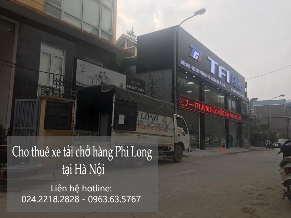 Xe tải chở hàng thuê tại phố Bảo Khánh