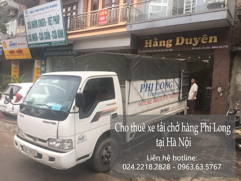 Dịch vụ xe tải chở hàng thuê tại phố Hoàng Công Chất