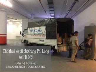 Xe tải chở hàng thuê tại phố Vọng Hà