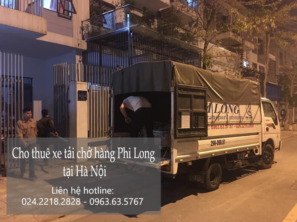 Dịch vụ xe tải chở hàng thuê tại phố Vọng Đức