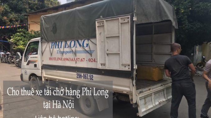 Dịch vụ xe tải chở hàng thuê tại phố Yersin