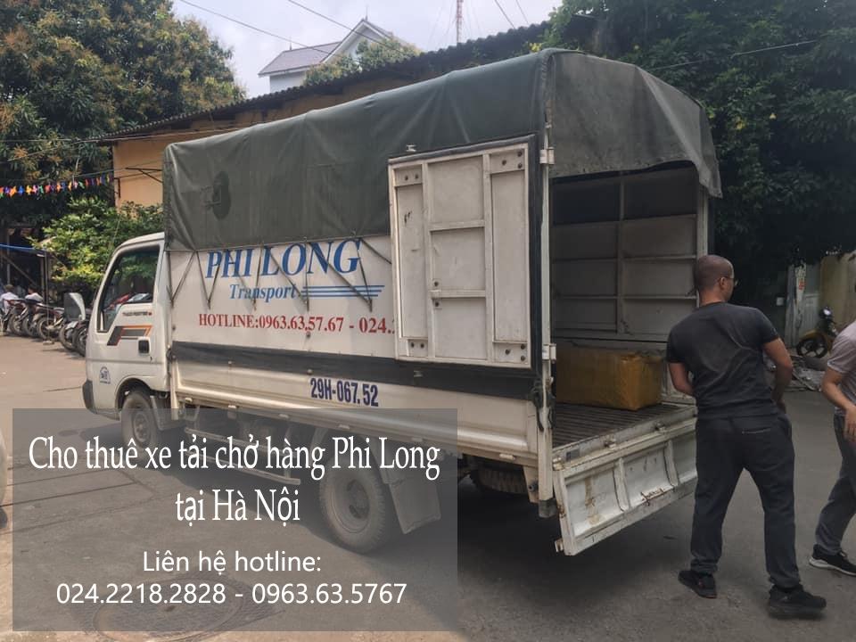 Dịch vụ xe tải chở hàng thuê tại phố Hoài Thanh