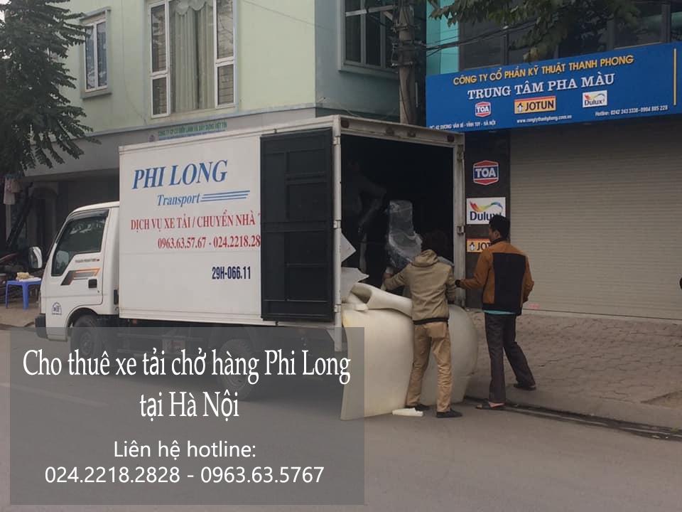 Xe tải chở hàng thuê tại phố Thanh Bảo