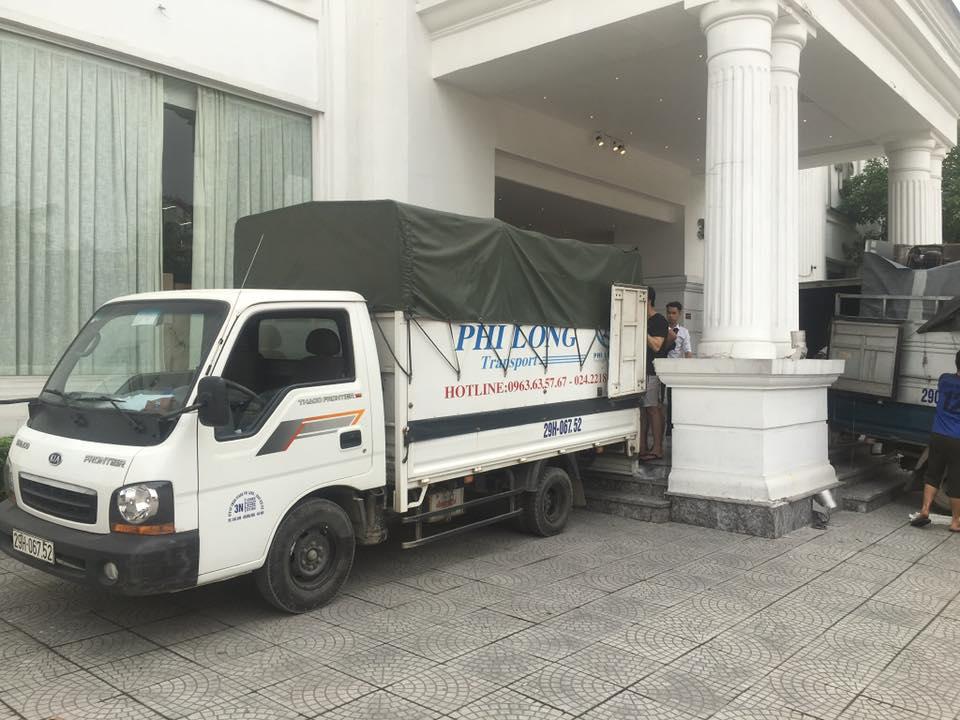 Xe tải chở hàng thuê tại phố Yên Lạc