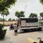 Xe tải chở hàng thuê tại phố Nguyễn Xuân Viết
