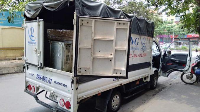 Xe tải chở hàng thuê tại phố Nguyễn Trãi