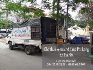 Xe tải chở hàng thuê tại phố Hàm Tử Quan