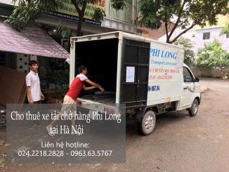 Xe tải chở hàng thuê tại phố Nguyễn Đình Tứ