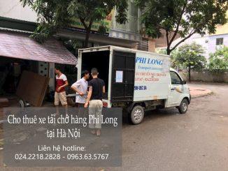 Xe tải chở hàng thuê Phi Long tại phố Kẻ Vẽ