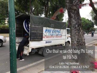 Xe tải chở hàng thuê Phi Long tại phố Lê Văn Hiến