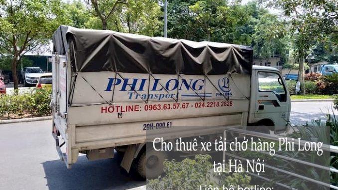 Xe tải chở hàng thuê tại phố Chính Kinh