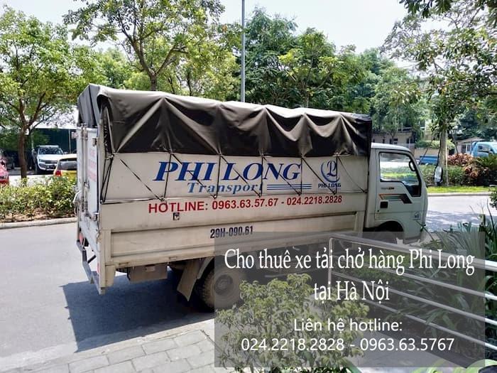 Xe tải chở hàng thuê tại phố Vĩnh Quỳnh
