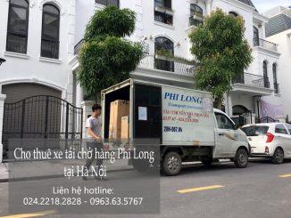 Xe tải chở hàng thuê Phi Long tại phường cống Vị