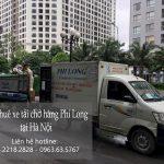 Xe tải chở hàng thuê Phi Long tại phố Hoa Lâm