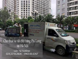 Xe tải chở hàng thuê Phi Long tại phố Thanh Lân