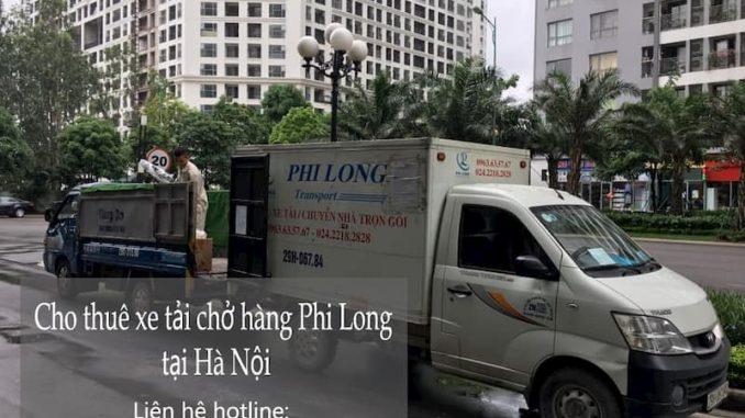 Xe tải chở hàng thuê Phi Long tại phố Đào Văn Tập