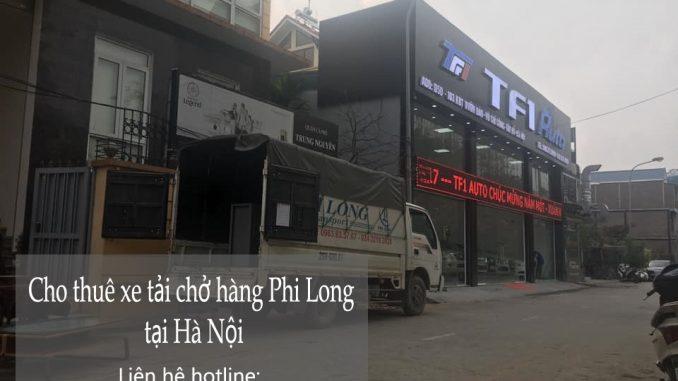 Dịch vụ cho thuê xe tải Phi Long tại phố Đoàn Khuê